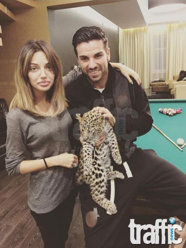 Джизъса подари малък леопард на Есмер