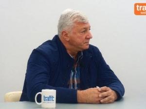 Здравко Димитров пред Трафик ТВ: Аз съм по-добър от Иван Тотев