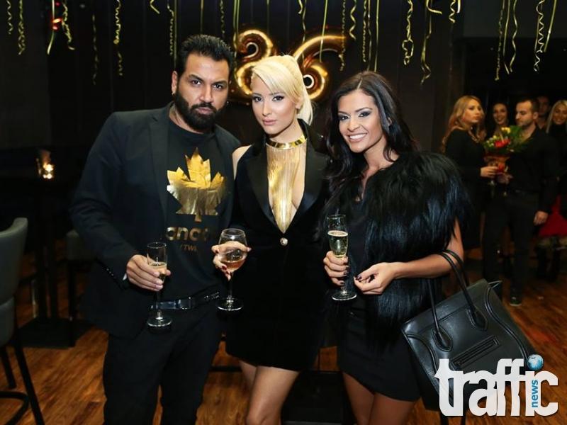 Черен дрескод на партито на Цвети Янева СНИМКИ