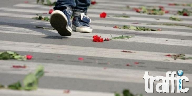 Кола помете пешеходец във Варна, той бере душа
