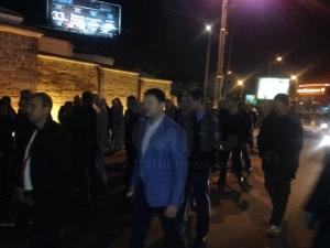 Шефът на пловдивската полиция също дойде на протеста СНИМКИ