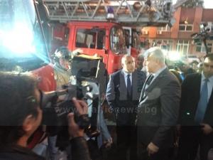 Борисов в Пловдив: Днес разписах 3 милиона за МВР ВИДЕО