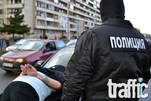 Мъж вдигна полицията на крак в Труд