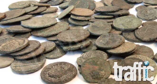 Иманярът Димитър  Магарето арестуван при сделка с антични монети