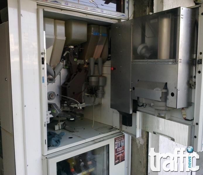 Софиянец разби кафе автомат в Пловдив