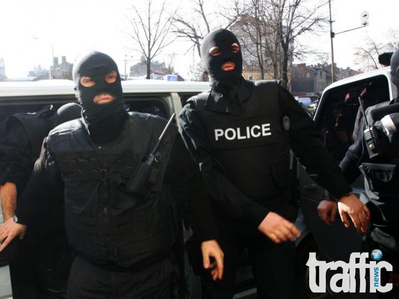 ГДБОП натръшка цял наркокартел, иззеха огромни количества дрога