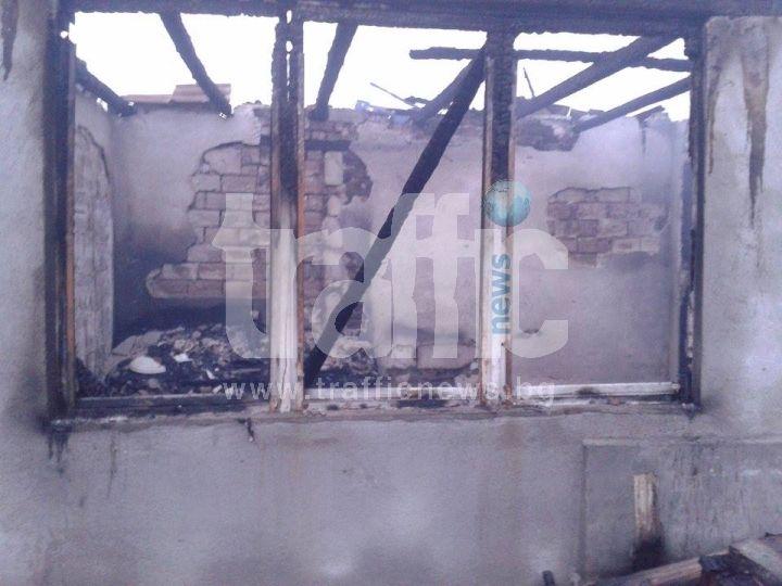 Възрастен мъж загина при пожар в село Белозем