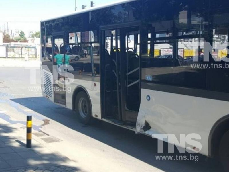 Автобус прегази крака на възрастна пловдивчанка