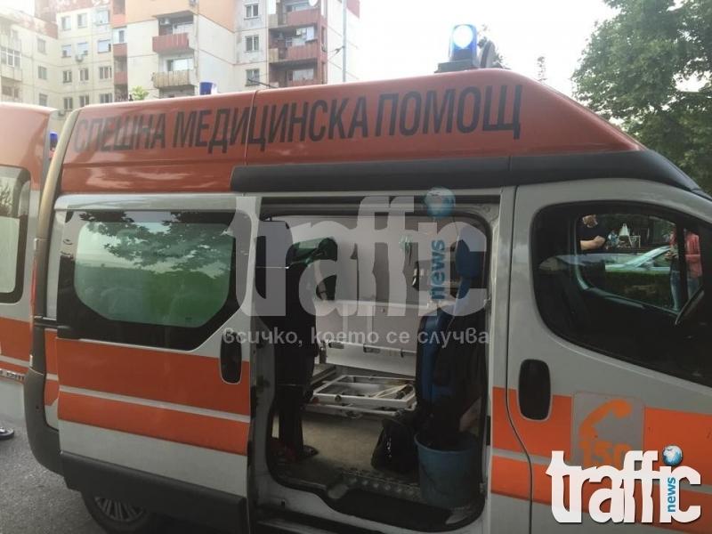 Опел отнесе пловдивчанка на пешеходна пътека в Тракия