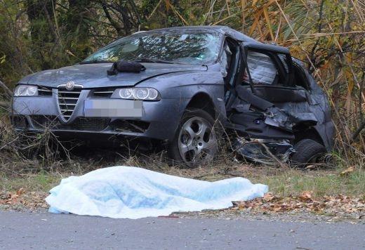 Пиян шофьор с Алфа Ромео уби жена на място