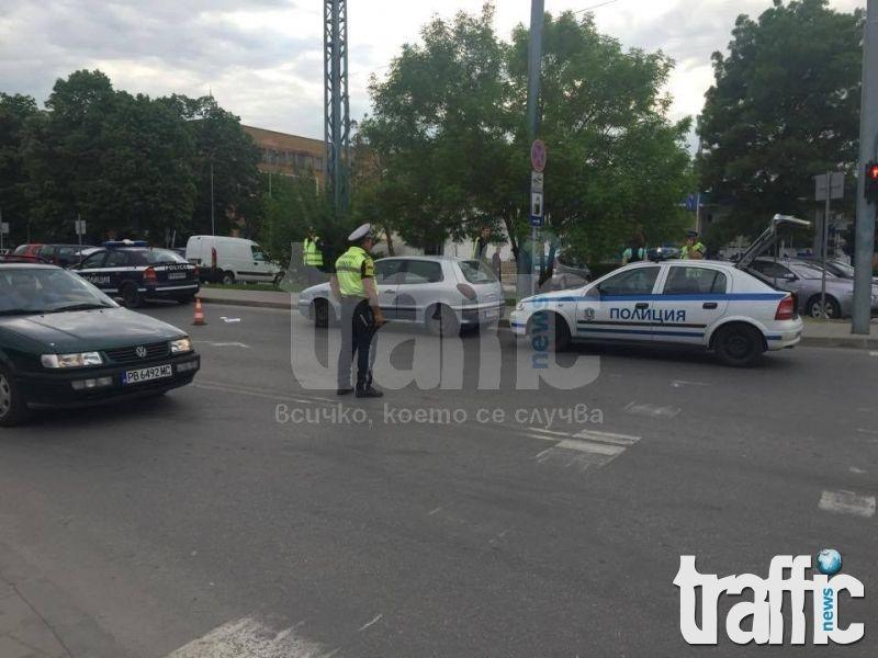 Дете и две жени са били пометени на пешеходна пътека в Пловдив