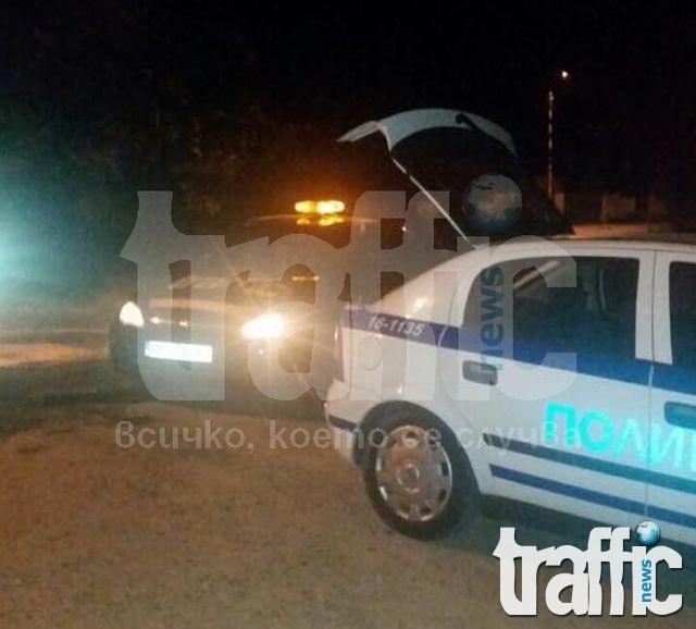 Мицубиши връхлетя върху пиян на пътя край Калояново