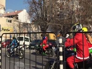 Дядо Коледовци яхнаха мотори в Пловдив ВИДЕО и СНИМКИ