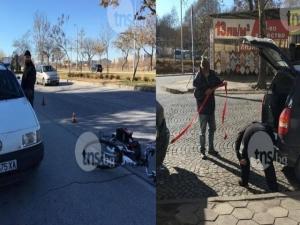 Малшанс! Баща и син катастрофираха през няколко минути на различни места в Пловдив