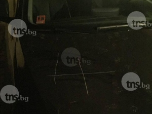 Вандали драскат наред коли в центъра на Пловдив СНИМКИ