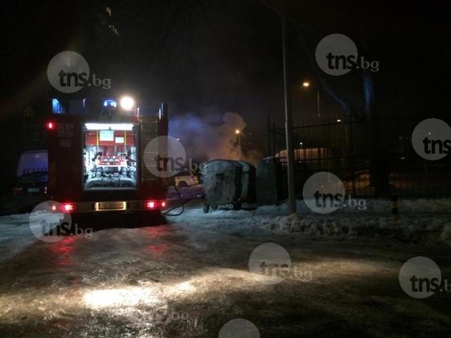 Кършияка и Захарна фабрика потънаха в мрак - голям пожар остави хиляди пловдивчани без ток при -10 градуса СНИМКИ