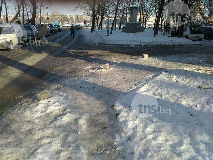 Зрелищен арест в Смирненски, заловиха сериен грабител