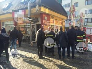 Пламна заведение в Кючука! Горяща скара подпали хладилник СНИМКИ