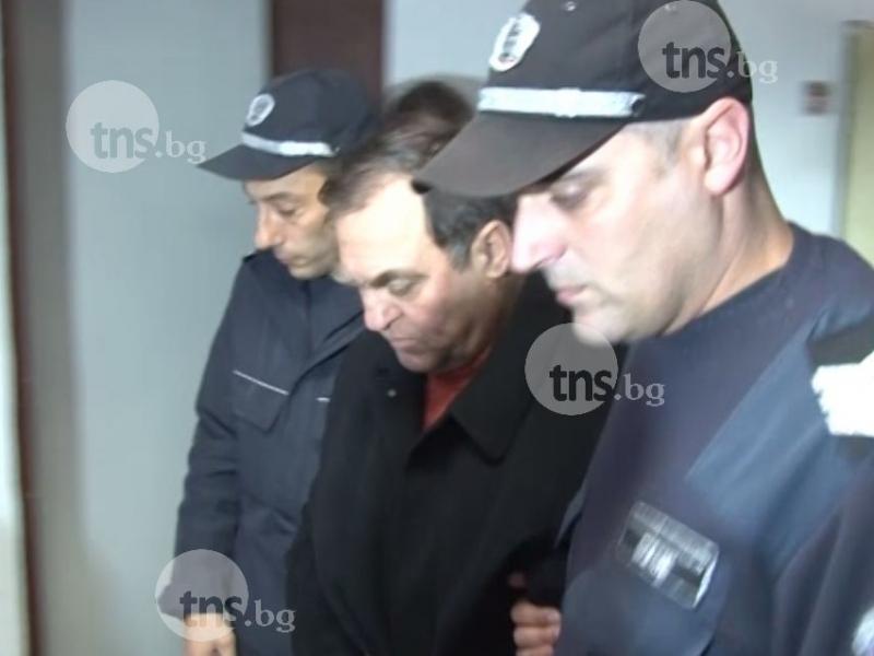 Кметът изнасилвач Евстатиев се изправя пред пловдивските магистрати