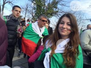 Патриотичният дух завладя Пловдив ВИДЕО