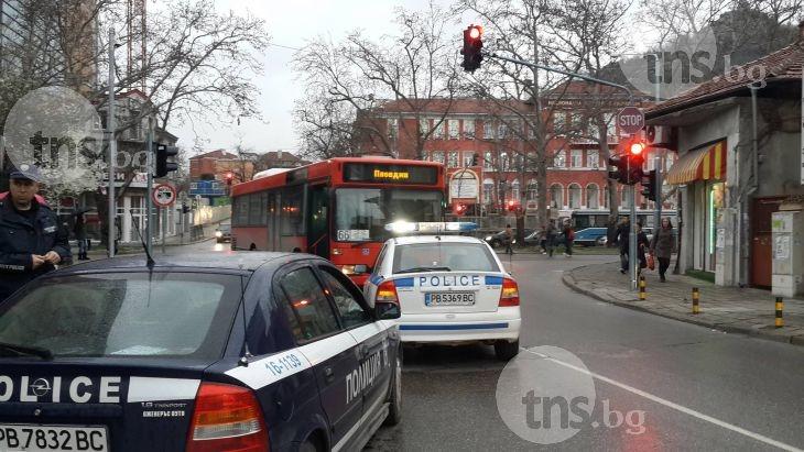 Удареното момиче от автобус на Гладстон е с комоцио и охлузвания СНИМКИ