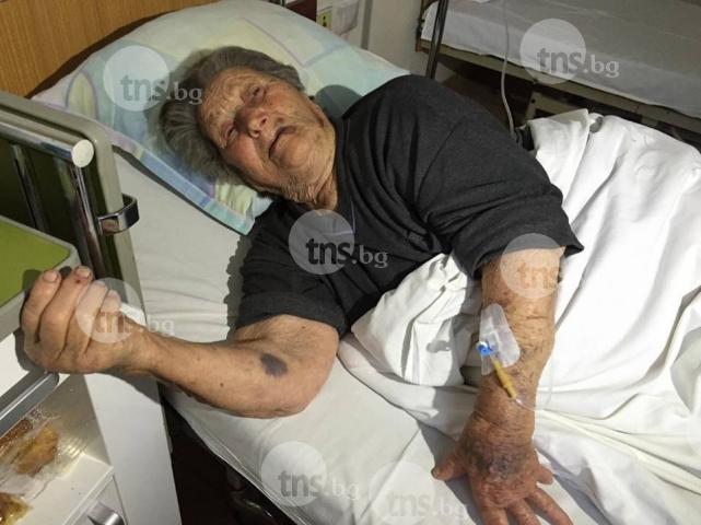 93-годишната баба Дона след най-кошмарната нощ в живота си: Мислех, че ще ме убие! ВИДЕО