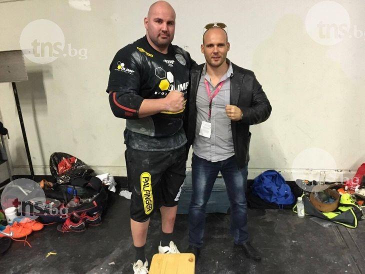 Най- силният българин  Стоян Тодорчев с нов световен рекорд в Кьолн ВИДЕО