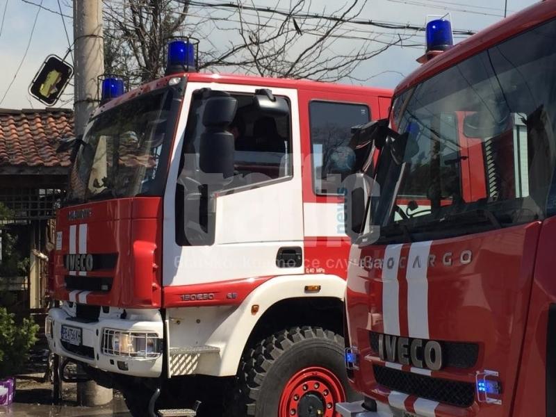 Пожар избухна в Куклен! Двама мъже пострадаха