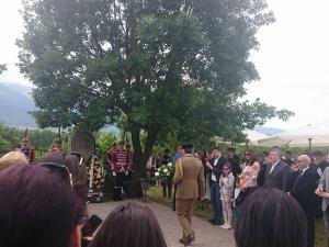 Родолюбци почетоха Гергьовден на българското военно гробище в Македония