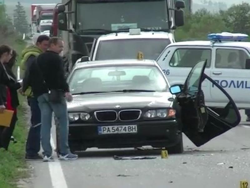 Кьоркютук пиян шофьор се помля с БМВ-то си край Пловдив