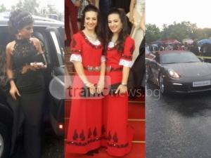 Дантели, носии и лъскави коли на бала на Френската СНИМКИ