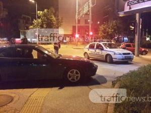 Пипнаха шофьора, който наби друг шофьор в Пловдив! Изловиха го камери