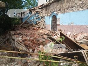 Православна църква се срути в Пловдивско, по чудо няма пострадали СНИМКИ