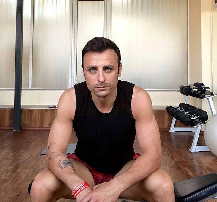 Бербатов не си губи времето – започна да тренира