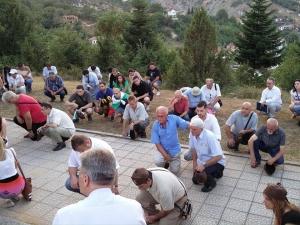 Българи почетоха годишнина от най-голямото българско въстание