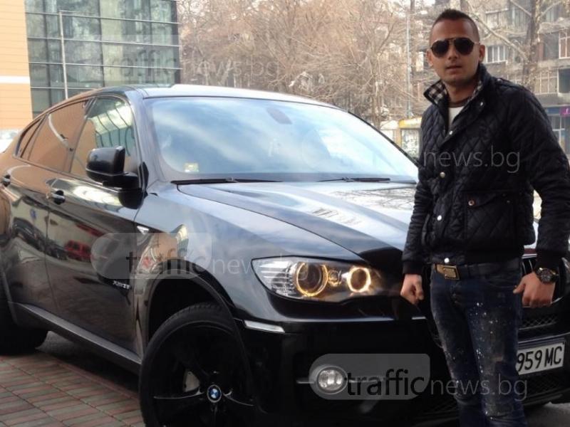 300 км/ч и люта чалга в BMW показа във фейса си Ангел Рашков СНИМКА и ВИДЕО