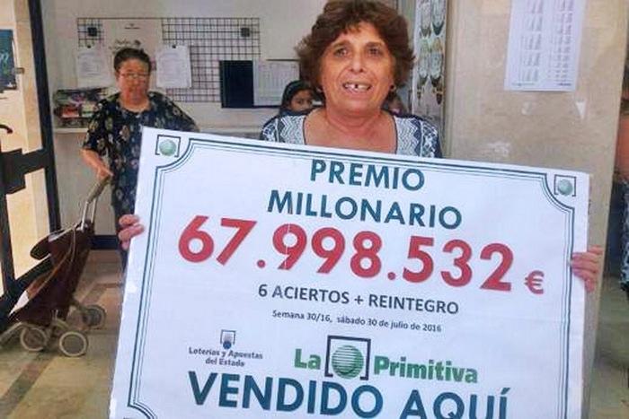 Българка в Испания хвана 68 милиона евро от лотарията
