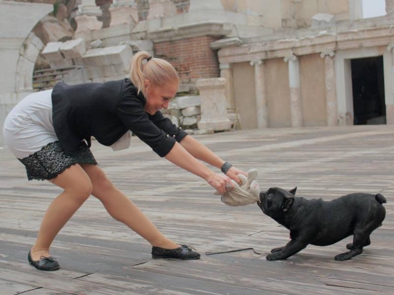 Треньорката по аеробика Анелия Шанкова стана майка