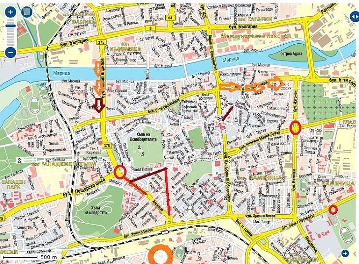 Karta 2019 Karta Na Plovdiv
