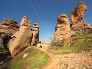 Невероятните Белоградчишки скали, видени по уникален начин ВИДЕО