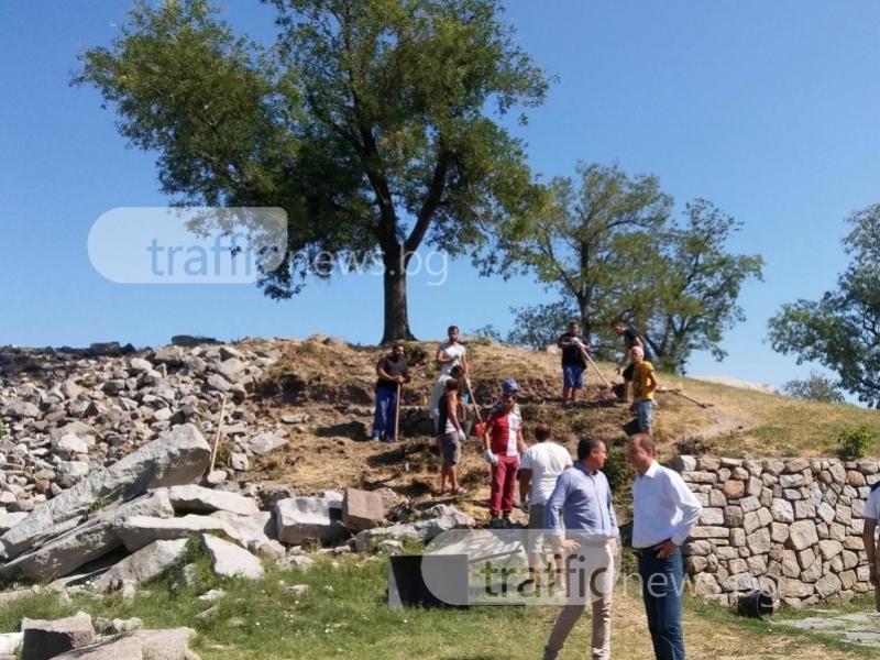 Откриха останки от кула и некропол на Небет тепе СНИМКИ