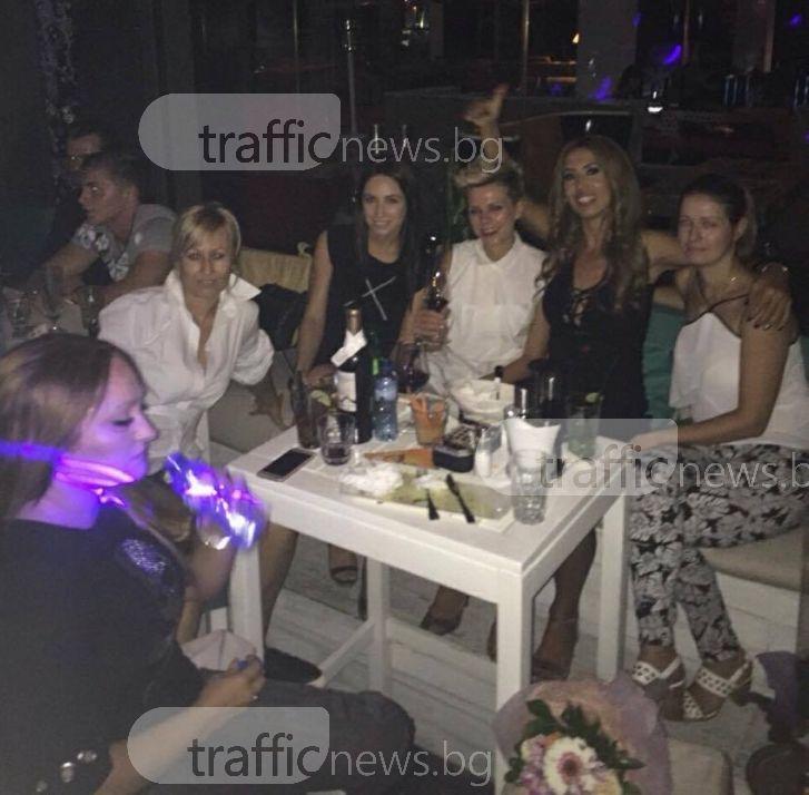 Пловдивска тенисистка вдигна женско парти за рождения си ден СНИМКИ