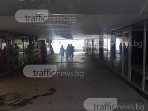 Общината си взима унищожения пешеходен подлез на аптека Марица! Концесионерът спря да плаща