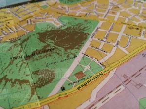Открий разликите: Картата на Пловдив преди 26 години СНИМКИ