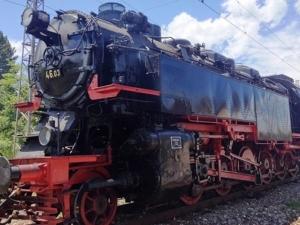 Вижте Баба Меца - локомотива, на който е работил Никола Вапцаров СНИМКА