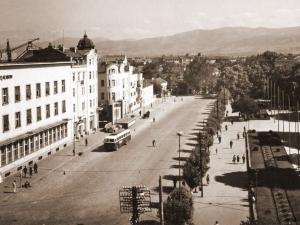 Главната на Пловдив преди повече от половин век! Партийният дом липсва