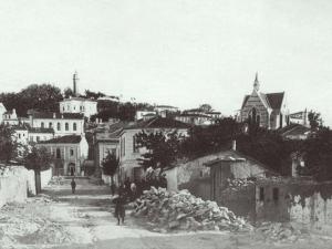 СНИМКА показва живота на Сахат тепе в Пловдив преди век