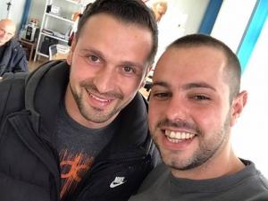 Ивайло Янаджиев си направи селфи с Косъма