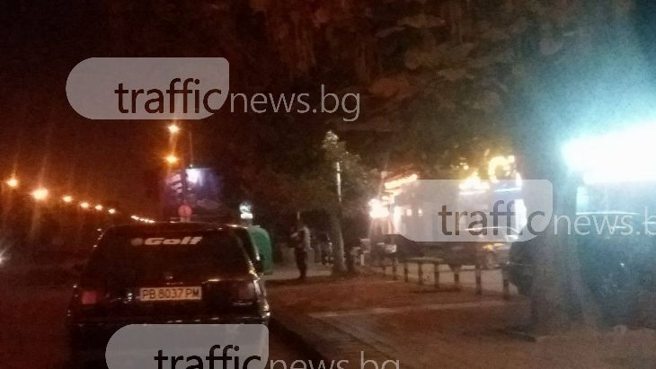 Проститутки и сутеньори се сбиха до Централна гара в Пловдив СНИМКА