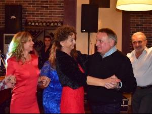Борис Дали и Росица Пейчева пяха на юбилея на бизнес дамата Любка Кемерова
